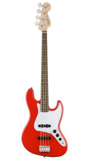 Fender Squier Affinity Jazz Race Red Bass Guitar