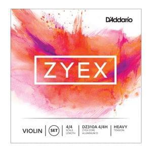 Daddario Zyex DZ310A 4 4H  Violin String Set