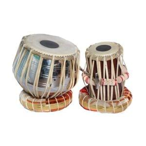 Tabla Pair With Engraved Dugga