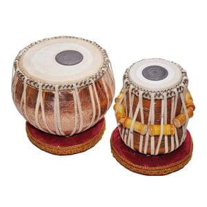 Tabla Pair Copper Dugga And Wooden Tabla