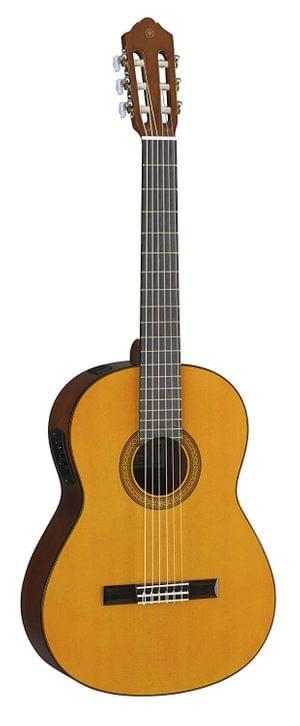 Yamaha CGX102 Natural Electro Acoustic Classical Guitar