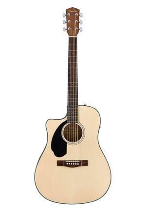 Fender CC60SCE NAT Left Handed Semi Acoustic Guitar