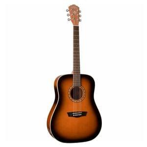 Washburn Harvest WD7SATB All Tobacco Sunburst Acoustic Guitar