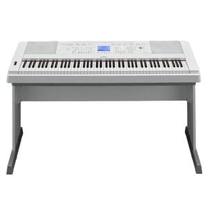 Yamaha DGX660WH 88 Key Weighted Digital Piano