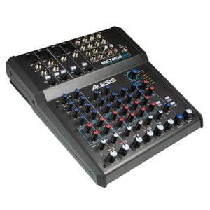 Alesis MultiMix Series 8 USB FX MM8USBFX Audio Mixer