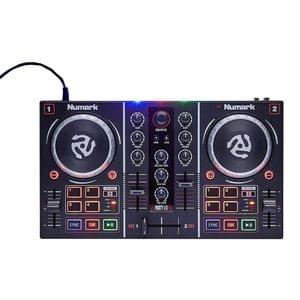 Numark Party Mix 2 Channel DJ Controller With Built In Light Show