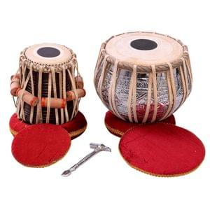 Tabla Set Steel Dugga And Wooden Tabla