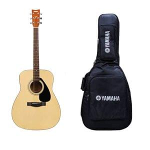 Yamaha F310 Natural Acoustic Guitar With Heavy Duty Gig Bag Combo Pack