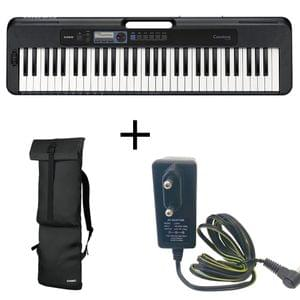 Casio Casiotone CT S300 Black Portable Keyboard