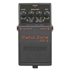 Boss MT 2 T Metal Zone Distortion Pedal
