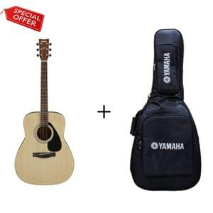 Yamaha F280 Natural Acoustic Guitar with Gig Bag Combo Package