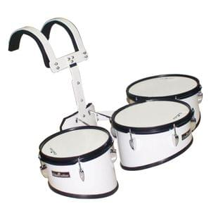 Chancellor Student Marching Drum Wine Red 3 Piece Tom Set