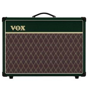 VOX AC15C1 BRG2 British Racing Green Guitar Amplispeaker
