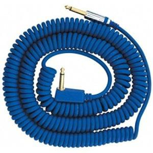 VOX VCC 90BL 9 Meters Blue Coil Guitar Cable