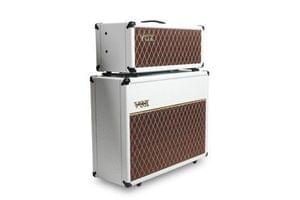 VOX V212C WB White Bronco Guitar Amplifier Speaker Cabinet