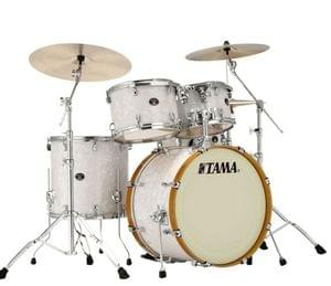 Tama VR52RVS2 SWP Silver Star 5 Pieces Drum Kit