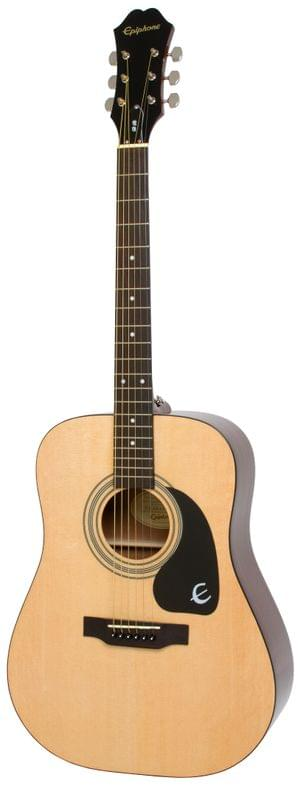 Epiphone EA10NACH1 DR-100 Dreadnought Natural Acoustic Guitar