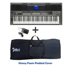Yamaha PSR I400 Portable Keyboard Combo Package with Bag, and Adaptor