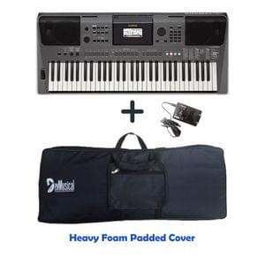 1603190245068-Yamaha PSR I500 Arranger Keyboard Combo Package with Bag, and Adaptor.jpg
