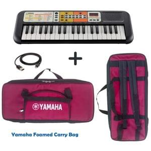 Yamaha PSS F30 Portable Keyboard Combo Package with Bag and Cable