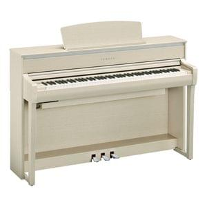 Yamaha Clavinova CLP-775 White Ash Digital Piano with Bench