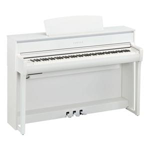 Yamaha Clavinova CLP-775 White Digital Piano with Bench