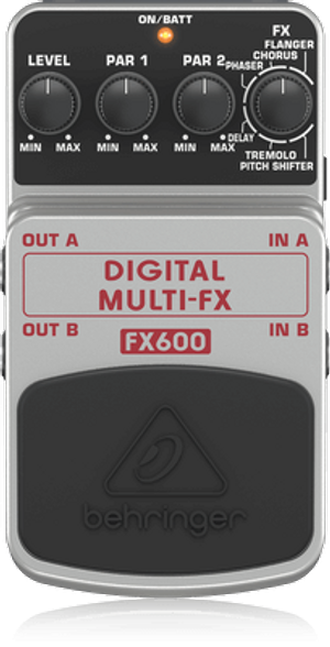 Behringer FX600 Digital Multi FX Guitar Effects Pedal