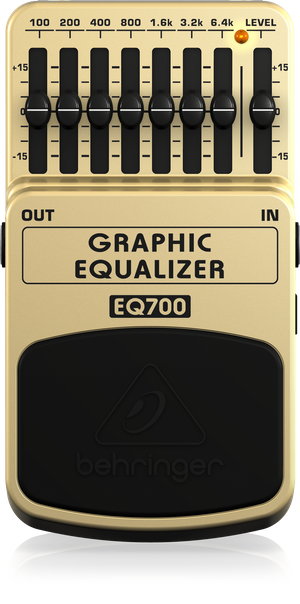 Behringer EQ700 Graphic Equalizer Effect Pedal