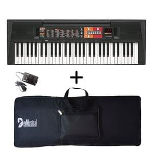 Yamaha PSR-F51 Portable Keyboard with Adaptor and Bag Combo Package
