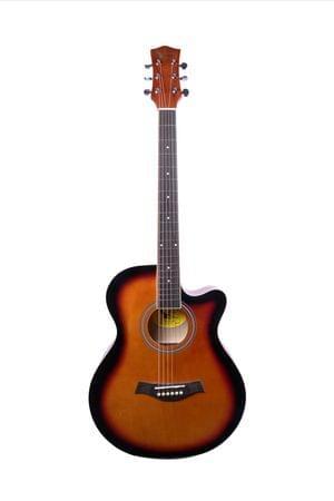 Swan7 40C Maven Series Spruce Wood Sunburst Glossy Acoustic Guitar