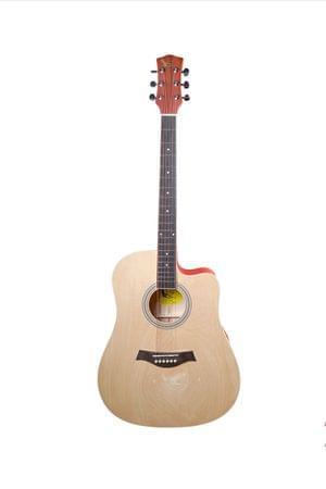 Swan7 41C Maven Series Spruce Wood Natural Matt Acoustic Guitar