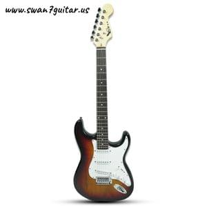 Swan7 ST-01 Maven Series TBS Electric Guitar